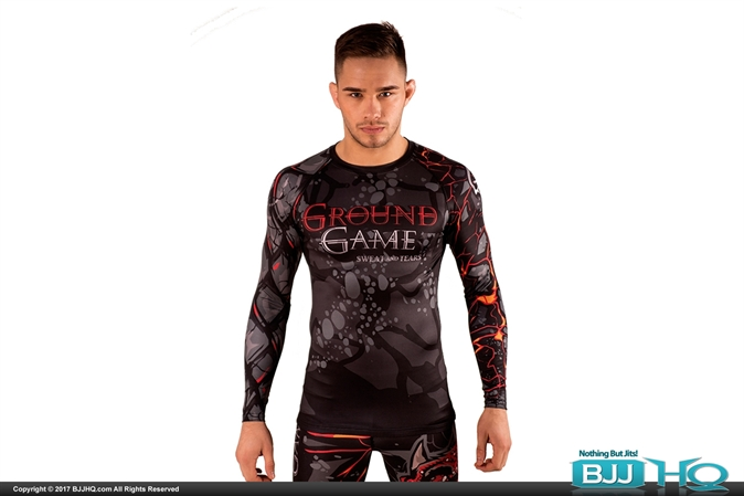 Ground Game Sweat & Tears Rashguard